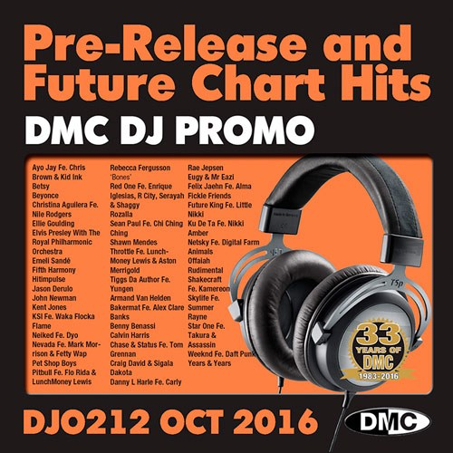 DMC DJ Promo 212 - Chart Hits October (2016)
