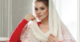 Качественный пуховый платок
