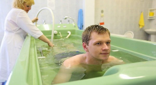 Лечебные газовые ванны